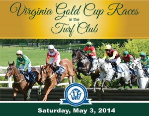 VA GOLD CUP MAY 4 2014 RACE ADVERTISEMENT